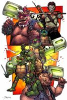 Teenage Mutant Ninja Turtles by sullivanillustration