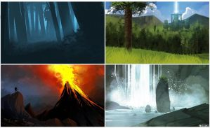 7-16-13 ENVIRONMENTS by MichaelBills