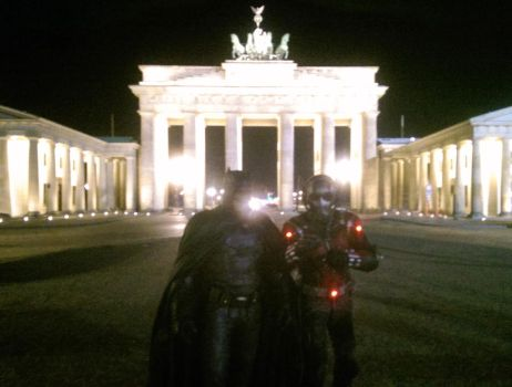 Batman and Ant-Man in Berlin (Snapshot) by PhelanDavion