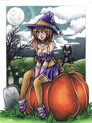 A witchy witch by Flos-Abysmi