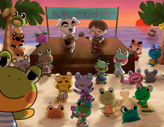 K.K.'s Frog Tour by Ambunny