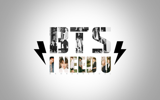 BTS Bangtan Boys I NEED U PC Wallpaper by SeoulSweetheart