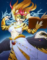 Tamara's YCH Sorcerer commission Colors by Ralloon by lady-cybercat