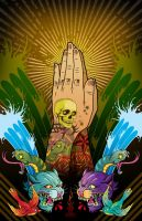 Praying Hands by d-nasty