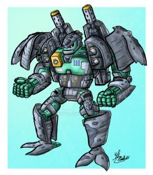 Beachmaster Robot Mode by TriBlurr
