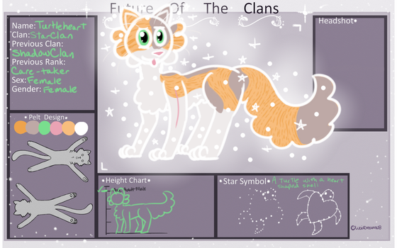 Turtleheart | StarClan | Future-of-the-Clans by oWindpocalypse