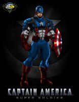 Captain America the first avenger 1 by CarbertArtwork