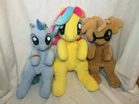 BABScon Mascot Plushies by KLPlushies