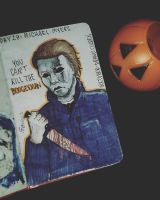 day 28: Michael Myers. by Frankienstein