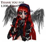 Thanks for 1k+ Page views by PhoenixSylph