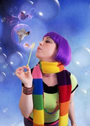 imagine bubble by savoycandy