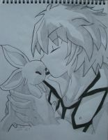 The Master and Loyal Friend - Johan and Ruby by MistressChi08