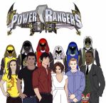 Updated!! Slayer Rangers Together Unmorphed by Eddmspy