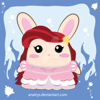 Bunny Seires: Ariel Bunny 1 by anairys