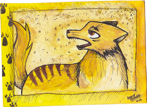 [ACEO]: Golden Talonz! by Roxynor