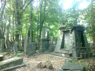 Jewish cemetery in Warsaw by israelove