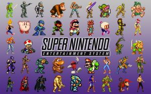Nintendo SNES Wallpaper 2 by SolidAlexei
