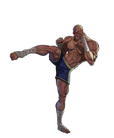 Sagat by androsm