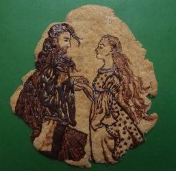 Faramir and Eowyn cookie by noleme
