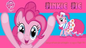 Pinkie Pie Wallpaper by AceofPonies