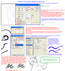 Lineart Tutorial by chickensmoothie