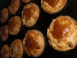 Meat Pies by UnluckyPrincess