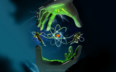 The Atom Control by THE-LEMON-WATCH