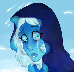 Feeling Blue by Smiley-Ink