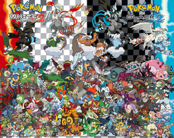 Pokemon Black 2 and White 2 - The Gen 5's