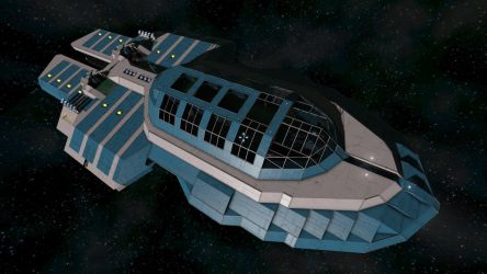 Sinicyan Maiden II-Explorer @ Space Engineers by Vince-T