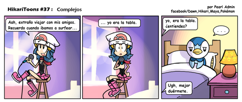 HikariToons #37 - Complejos by Andres2610