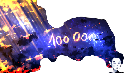 100 000 watchers by ryky