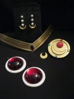 Sailor Moon anime first accessory kit by LiveSailorMoonMovie
