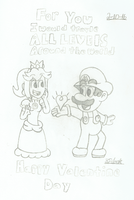 Mario's Valentines by 3DylanStar