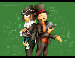 Laytonesque Academics by MagicianCelemis