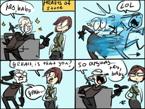 The Witcher 3, doodles 22 by Ayej
