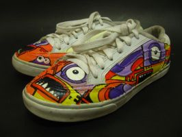Monster Shoes Version 2 by flyingblind