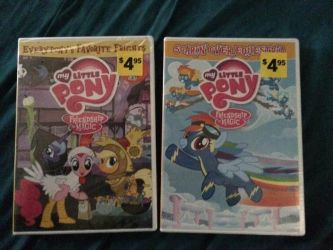 I've just gotten 2 DVD's of MLP:FIM by Callewis2