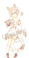 [AUCTION] LineHeart #49 : closed by ErinAdopts
