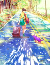 Dream of Road Back by CaringWong