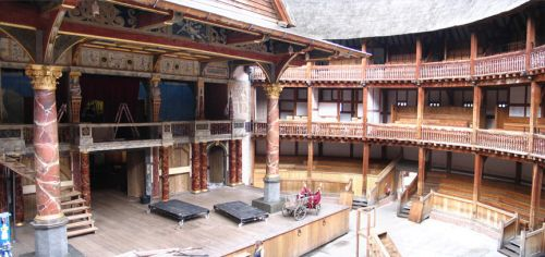 Shakespeare Theater Interior by eRality