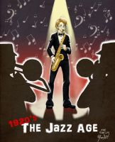 APH: 1920's- The Jazz Age by ThePuddingMonster