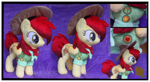 Contest Prize: Peppy Pines Custom Plush by Nazegoreng