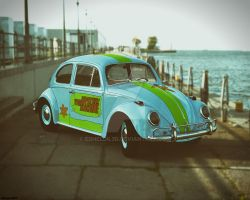 The Mystery Machine (Beetle Version) by Edheldil3D