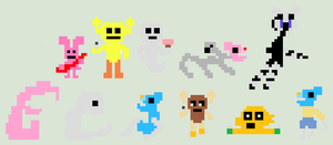 Five Nights at Penny's 2 - Death Minigame Pixels. by PumpkinLOL