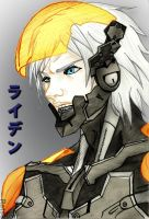 Raiden MGS4 Colored by Ratsukorr