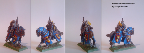 Knight of the Quest Bretonnian by Edowyth-The-celte