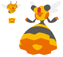 Combee and Vespiquen Base