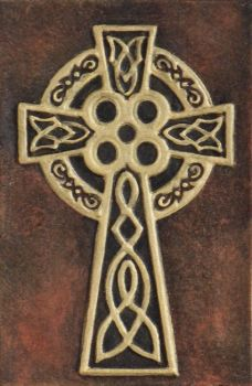 Celtic High Cross by kevindyer