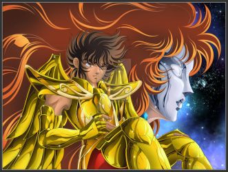 Seiya and Marin by Juni-Anker